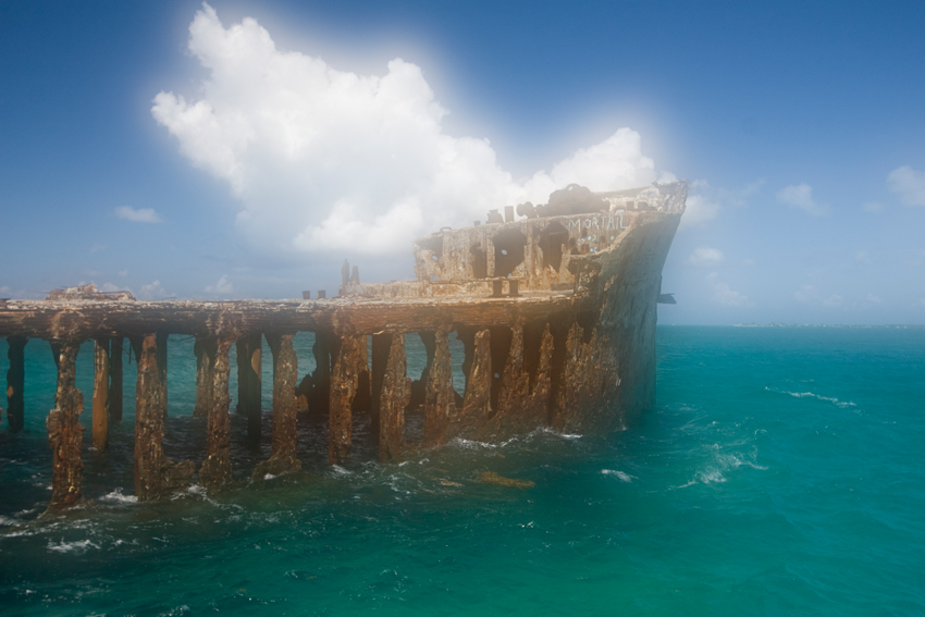 Sapona Wrack - Bahamas