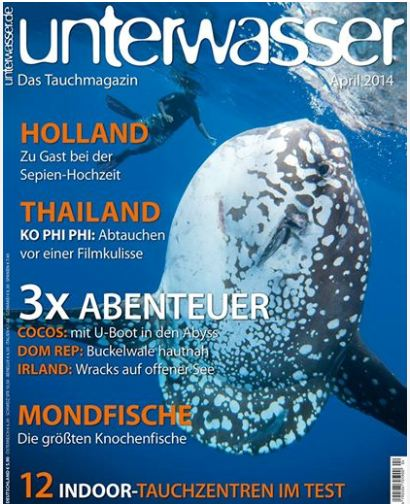 Unterwasser April 2014 Cover