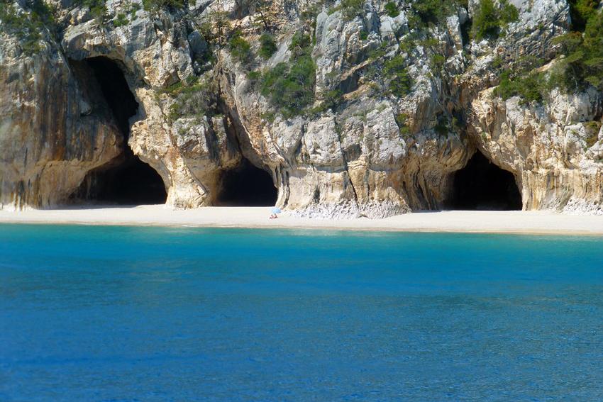 Italien, Sardinien - Grotten am Golf von Orosei