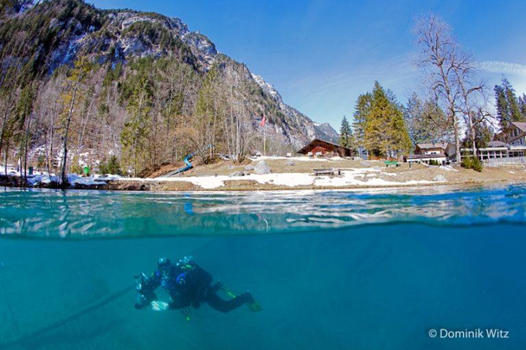 "Reisen – Schweiz – ""Blausee, die blaue Perle im Berner Oberland"""