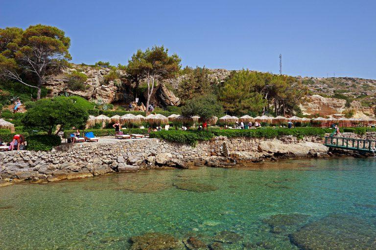"""Reisen – Rhodos – """"Tauchen mit der Familie in der Bucht von Kalithea"""""""