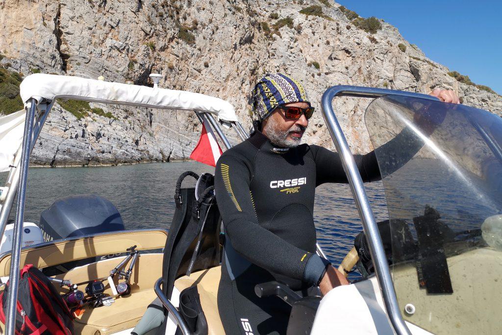 Tassos Leiter Kerveli Dive Center
