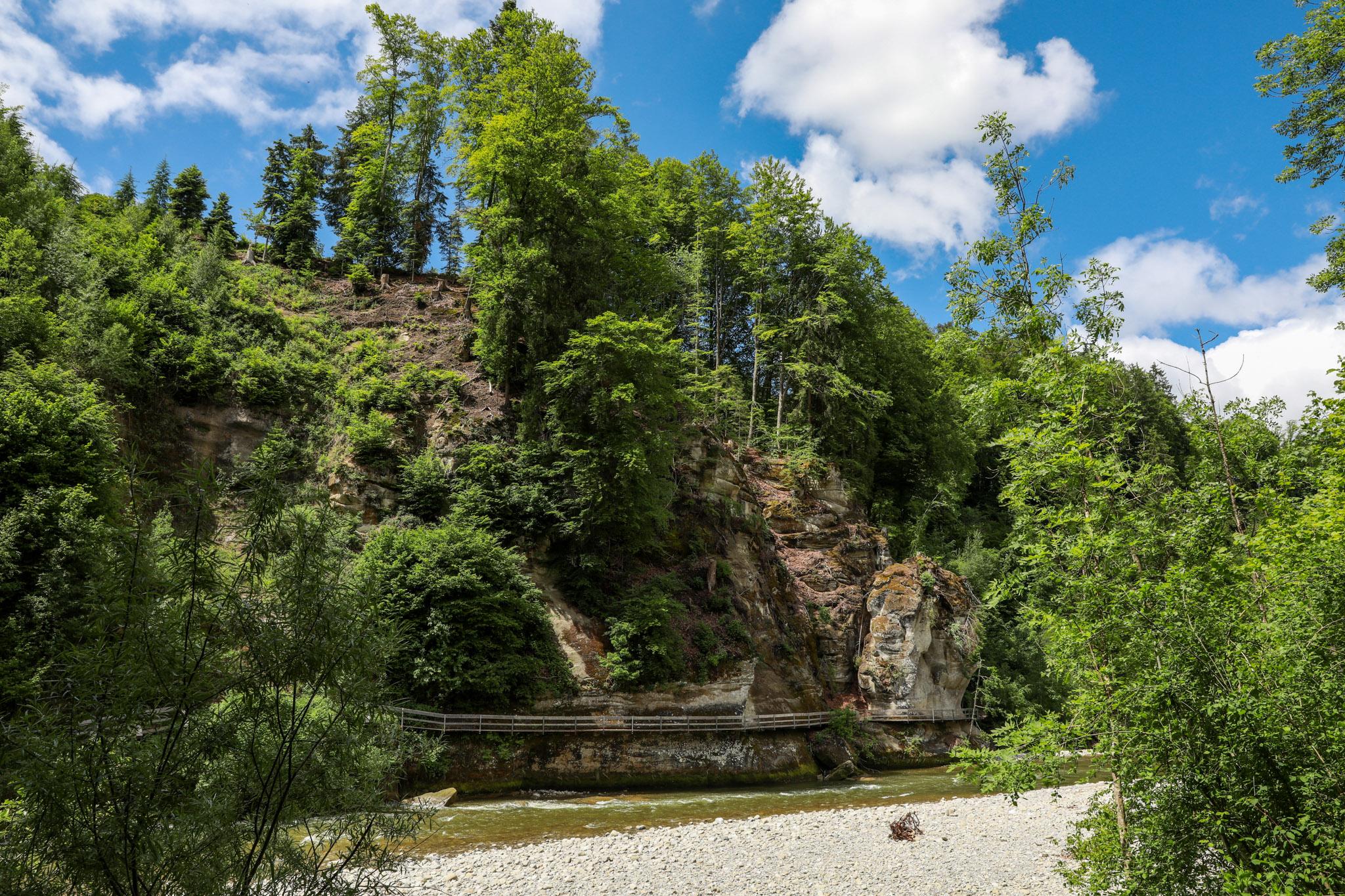You are currently viewing Erlebnisreiche Rundwanderung Schwarzwasserbrücke – Sense Hängebrücke