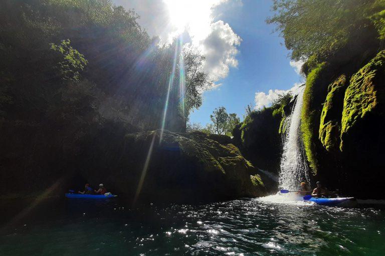 """Read more about the article Kroatien – """"Kayak-Rafting und Natur auf der Mrezinca"""""""