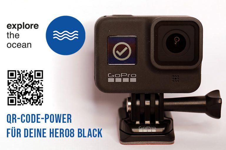 """Fototipp – """"GoPro Hero 8 QR-Codes – Ein Segen für Taucher"""""""