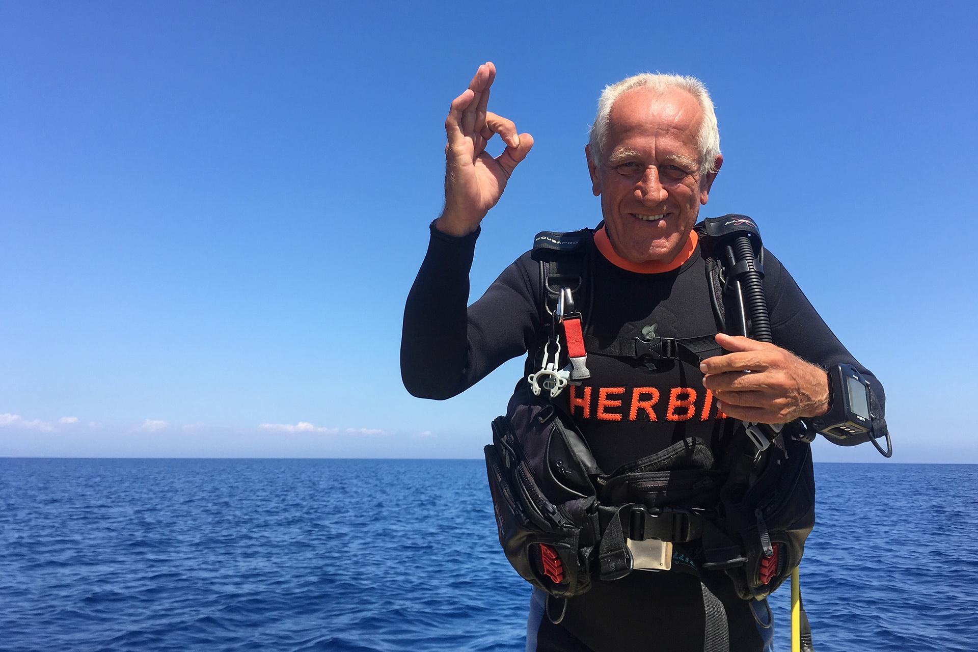 """Reisen – Zypern – """"Tauchen mit Soldat Herbie"""""""